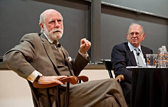 Vinton Cerf y Robert Kahn